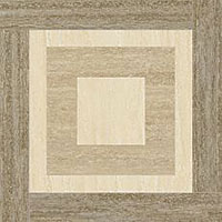 4 ITALON travertino floor silver inserto night lux 59x59