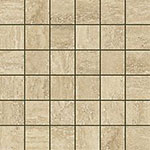 12 ITALON travertino floor romano mosaico патинир 30x30