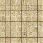 12 ITALON travertino floor romano mosaico lux 29.2x29.2