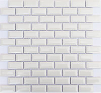 12 ORRO ceramic white bar 30x30x0.4