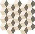 12 ITALON element silk mosaico cube warm 30.5x33
