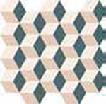 12 ITALON element silk mosaico cube cold 30.5x33