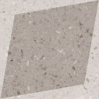 3 WOW drops natural rhombus decor taupe 18.5x18.5